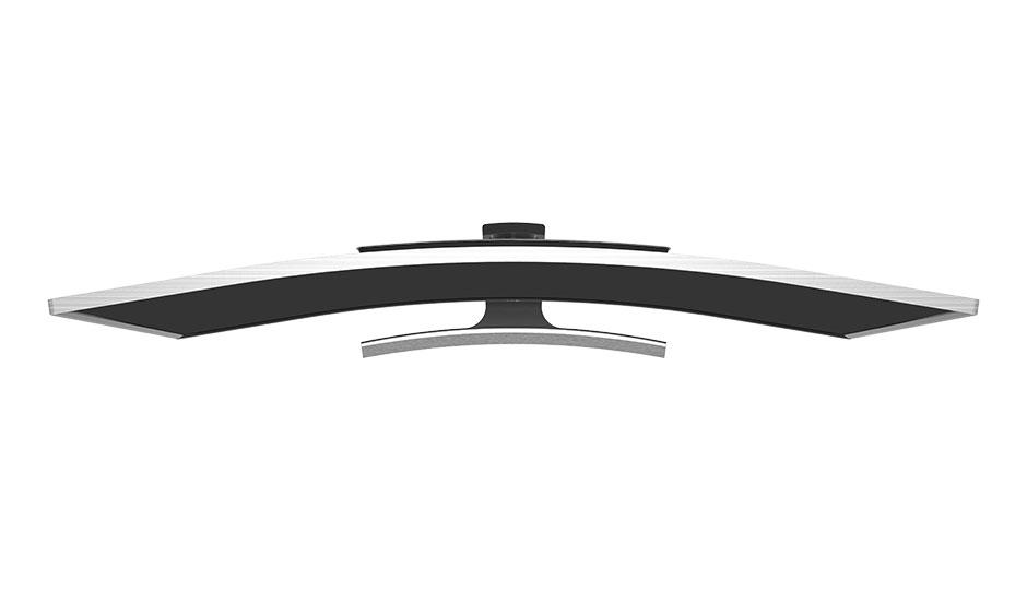 aluminum led curved 4k monitor 40 u0026quot  t10c